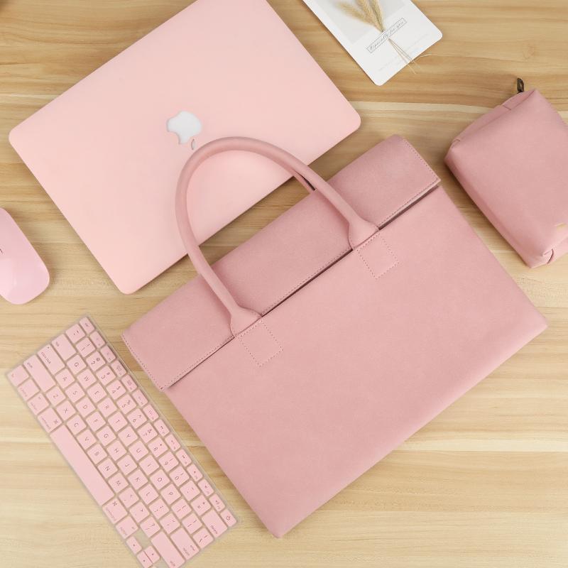 Sac pour ordinateur portable MacBook Air 13 cas 12 13,3 14 15,6 pouces Femmes Hommes Sac à main pour HP Dell ASUS Huawei Xiaomi mac pro 13 15 16 manches k700g