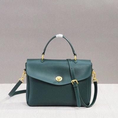 Messenger Bag Ladies Véritable sac à main en cuir de mode Couffin souple d'hiver 2019 d'ordinateur de grande capacité Femmes Sacs zt1s #