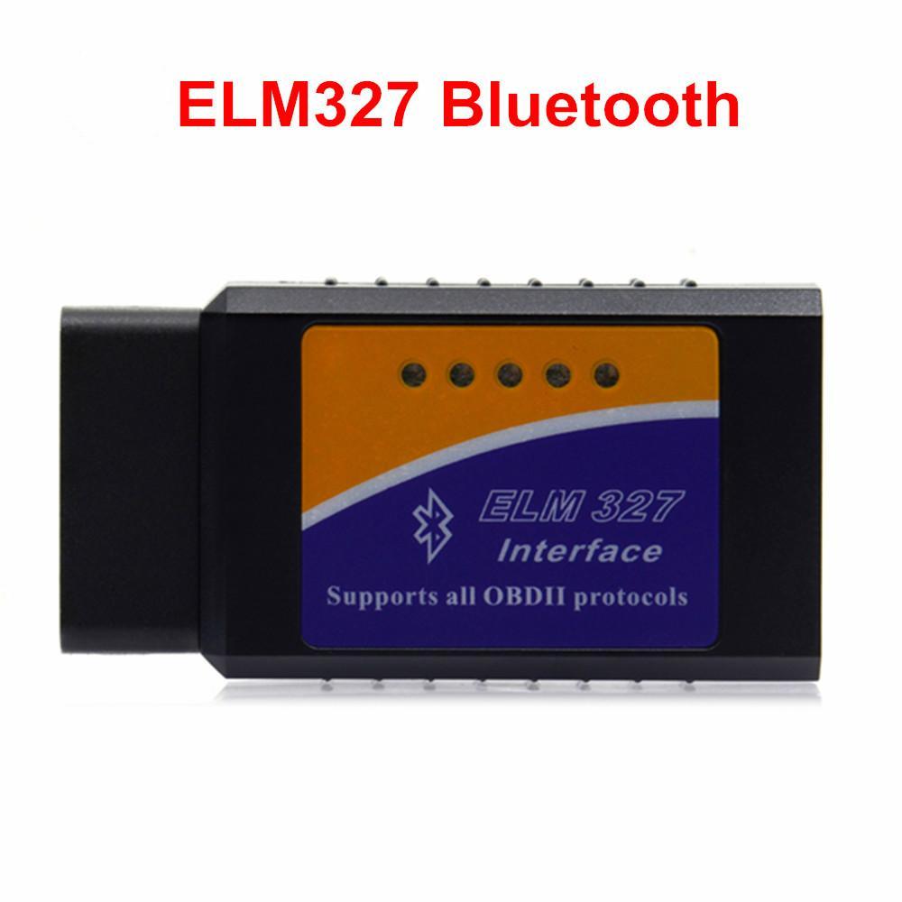 Mini ELM327 ELM-327 Bluetooth V2.1 OBD2 lector de código auto del explorador del olmo 327 herramienta del probador adaptador de diagnóstico para Android