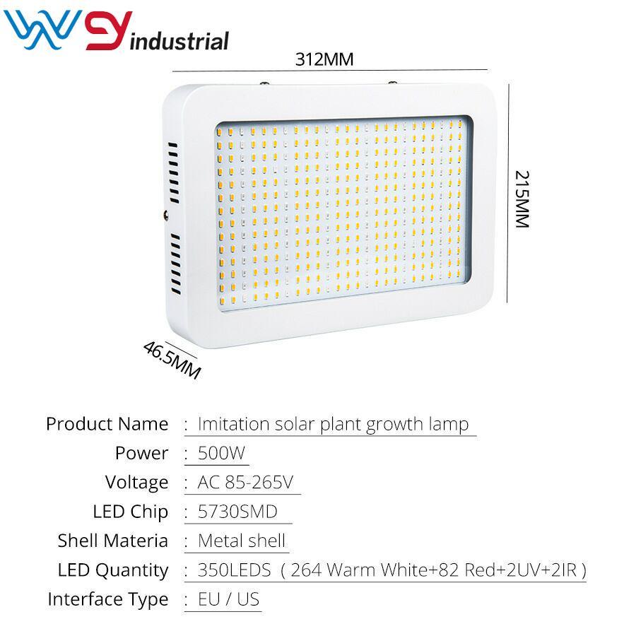 led Yetiştirme lamba tahtası Samsung 5730 3000k 3500K 4000K karışımı koyu kırmızı 660nm UV ve kapalı led ışık kiti büyümeye