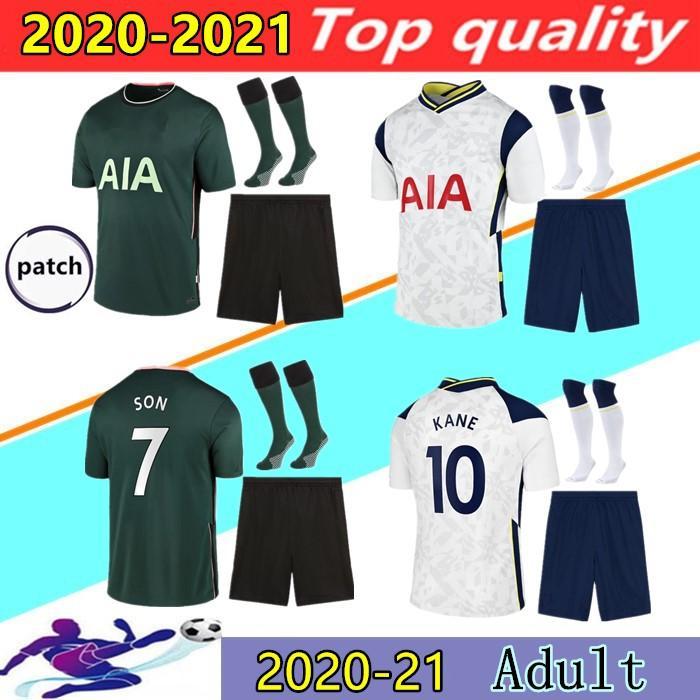 Top quality 20 21 spurs KANE soccer jerseys maillot de foot 2020 2021 LAMELA ERIKSEN SON DELE Camiseta third football shirt kit uniforms