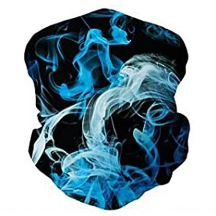 Starry Sky impression corniche multi-usage extérieur masque anti-insectes chapeau Starry Sky impression numérique écharpe magique numérique en plein air résistant à des insectes
