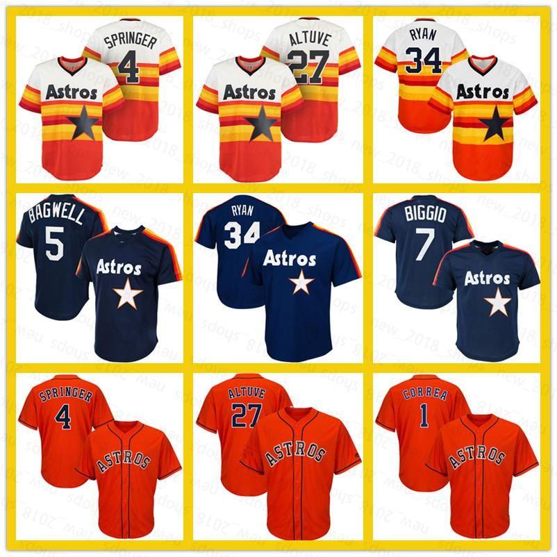 27 Jose Altuve Houston 35 Justin Verlander Astros 4 Джордж Спрингер 34 Нолан Райан 7 Крейг Биггио 5 Джефф Бамуэлл 2 Алекс Брегман Бейсбольные Мужчины