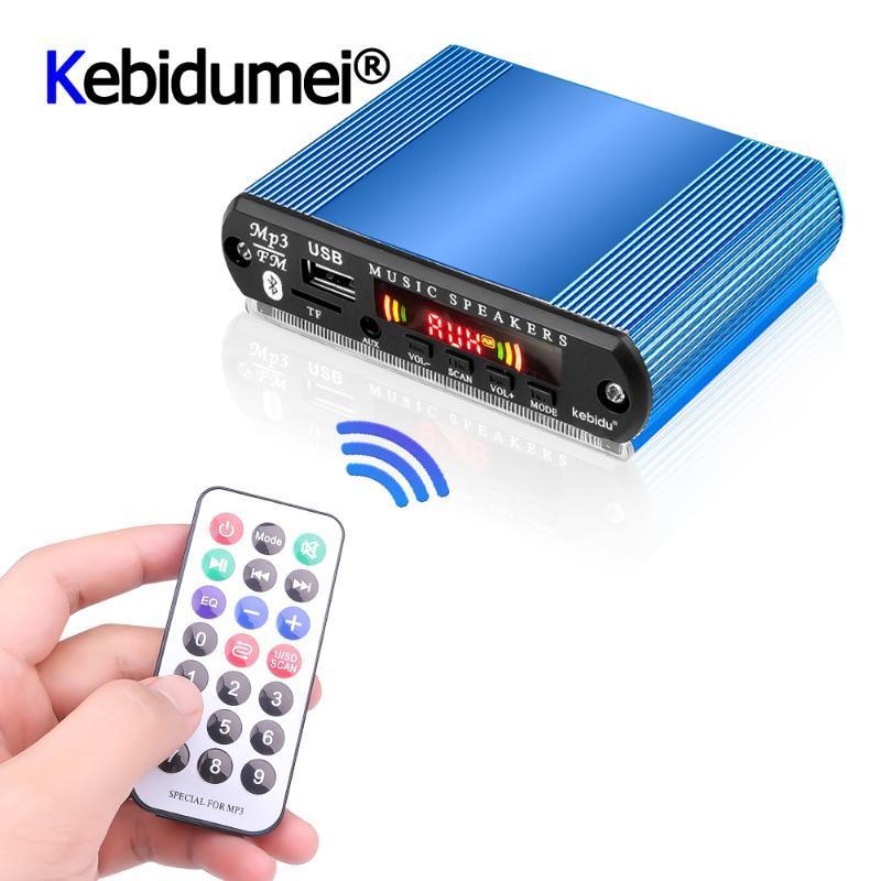 Mini voiture USB LED audio numérique MP3 décodeur soutien TF lecteur Radio FM avec télécommande
