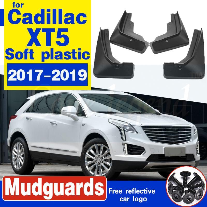 4 PCS Front Rear Car-Schmutzfänger für Cadillac XT5 2017 2018 2019 Fender Mud Schutzklappe Kotflügel Splash Flaps Radschützer Zubehör