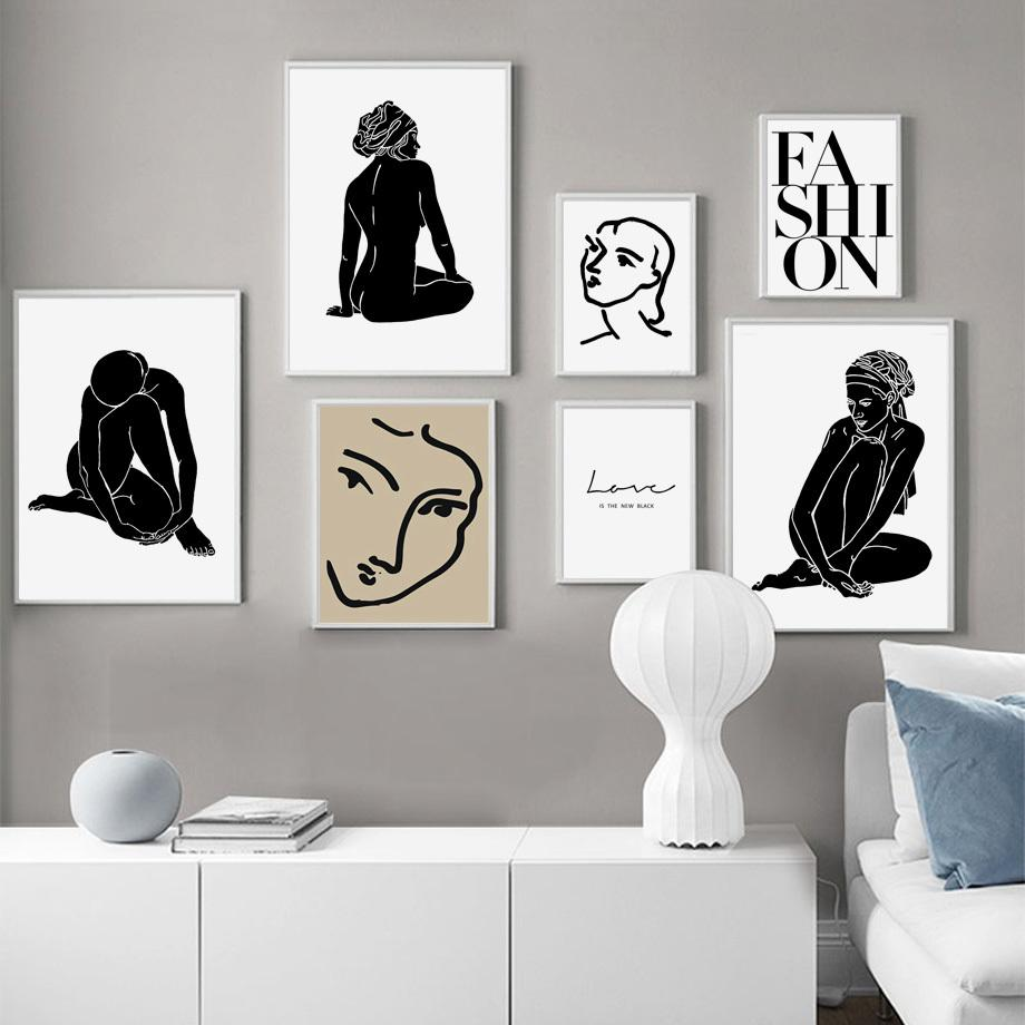 2020 Matisse Abstract Portrait Vintage Nordic Poster Body Art Print Wall Art Canvas Painting Wall Pictures For Living Room Home Decor From Goodcomfortable 3 36 Dhgate Com