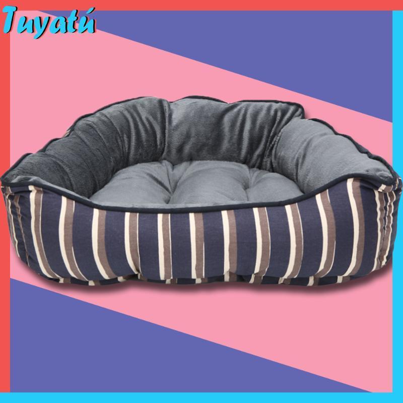 Fluffy Calmant Lits pour les chiens pour les grands chiens Petit Moyen Hiver chaud Cotton luxe Big Dog Bed Maison Sofa pour chiot Pet Products Pug