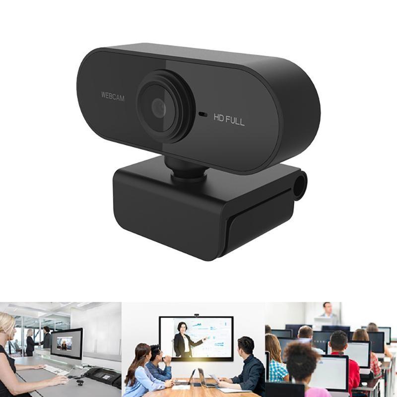 USB2.0 веб-камера 1080P HD 2M Pixel Фокус Компьютер камеры Веб-камеры с микрофоном 1920 * 1080 для компьютеров ноутбук
