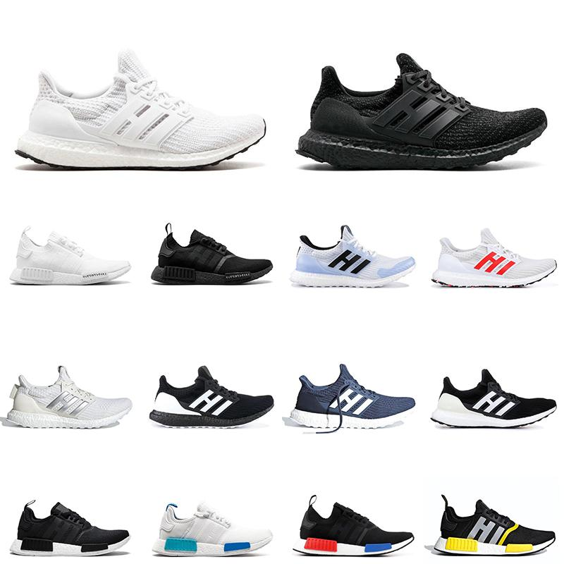 NMD R1 Mens Running shoes ultra boost men women triple black White Walker ultraboost men trainers sports sneakers