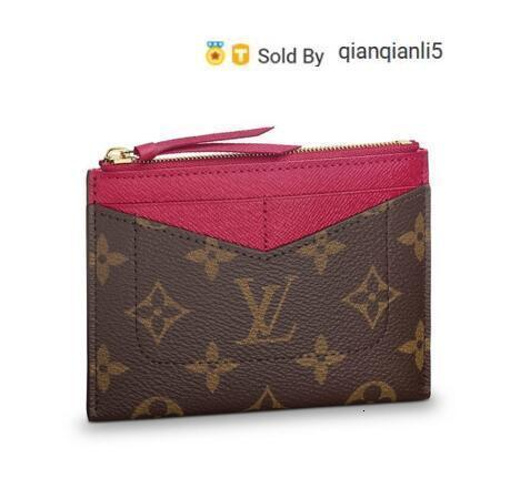 qianqianli5 IED1 ZIPPED CARD HOLDER M62257 NEW WOMEN FASHION SHOWS EXOTIC LEATHER BAGS ICONIC BAGS CLUTCHES EVENING CHAIN WALLETS PURSE