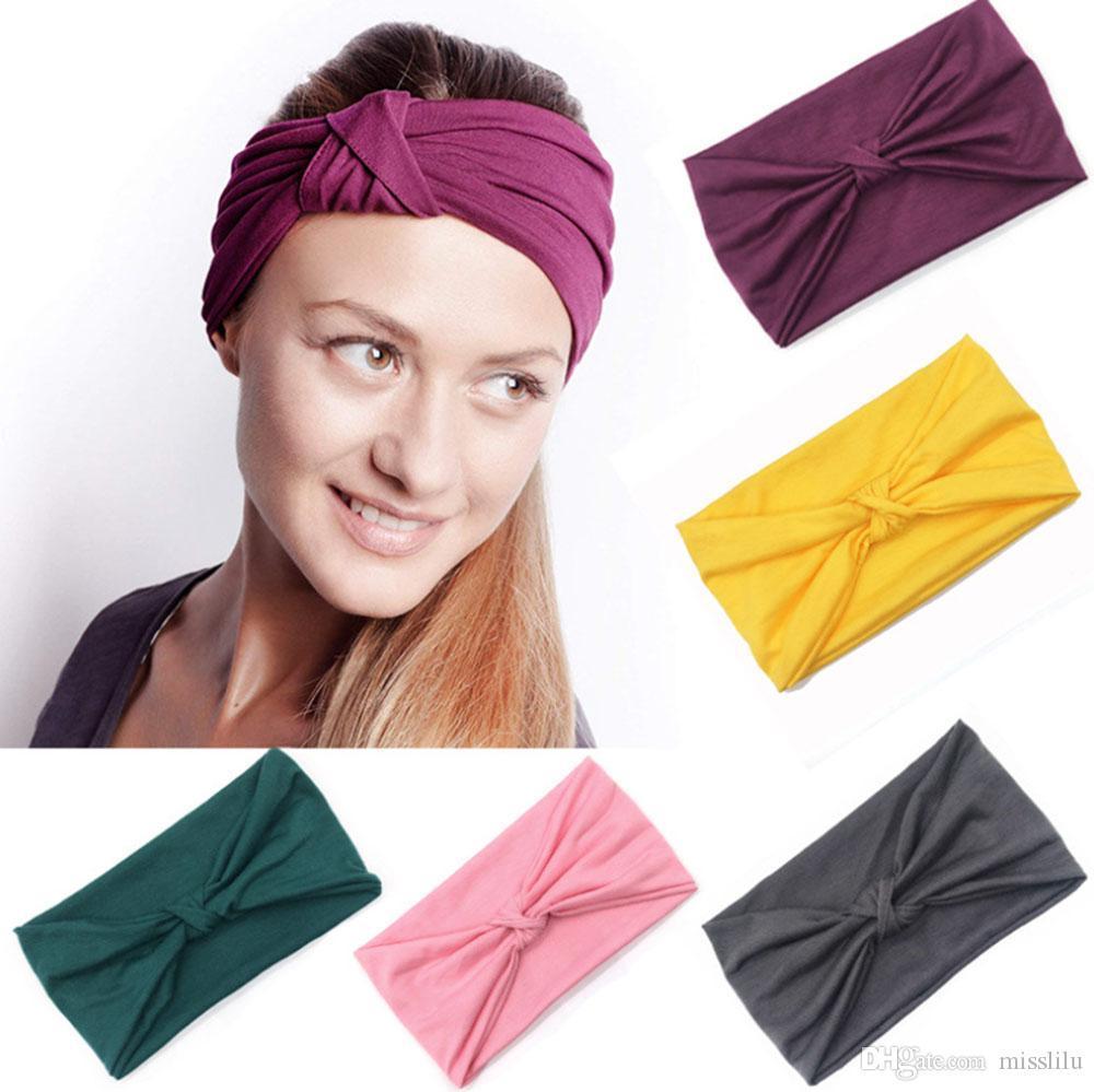 New Tie Dye Sweat Guide Headband Sports Headband Ladies Headband Fitness