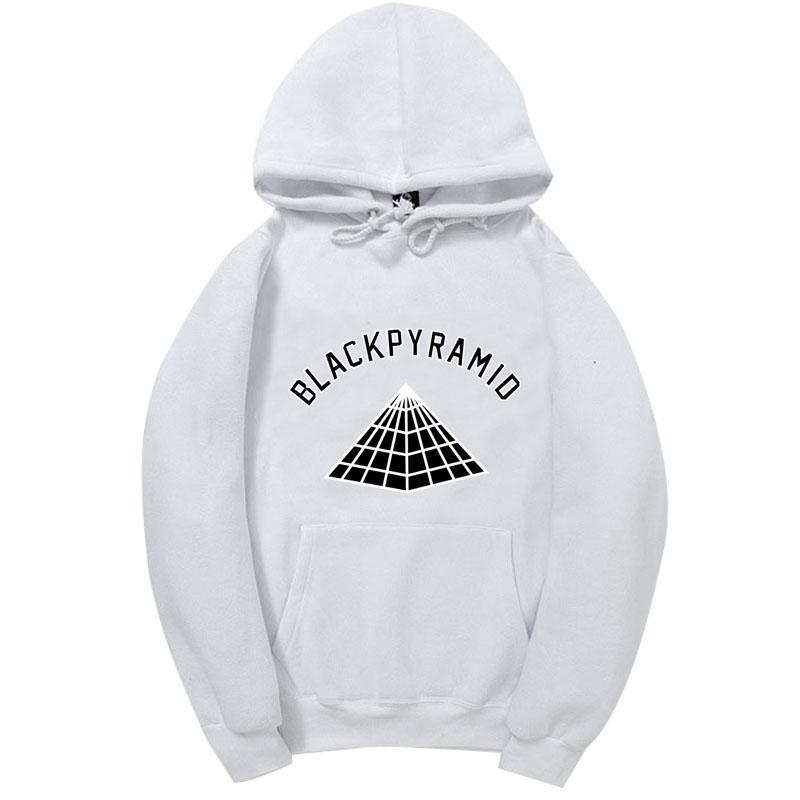 Neueste BLACK PYRAMID Hip Hop Hoodies Männer und Frauen Sweatshirts Skateboard Street Style Cotton Anzug Hoodie