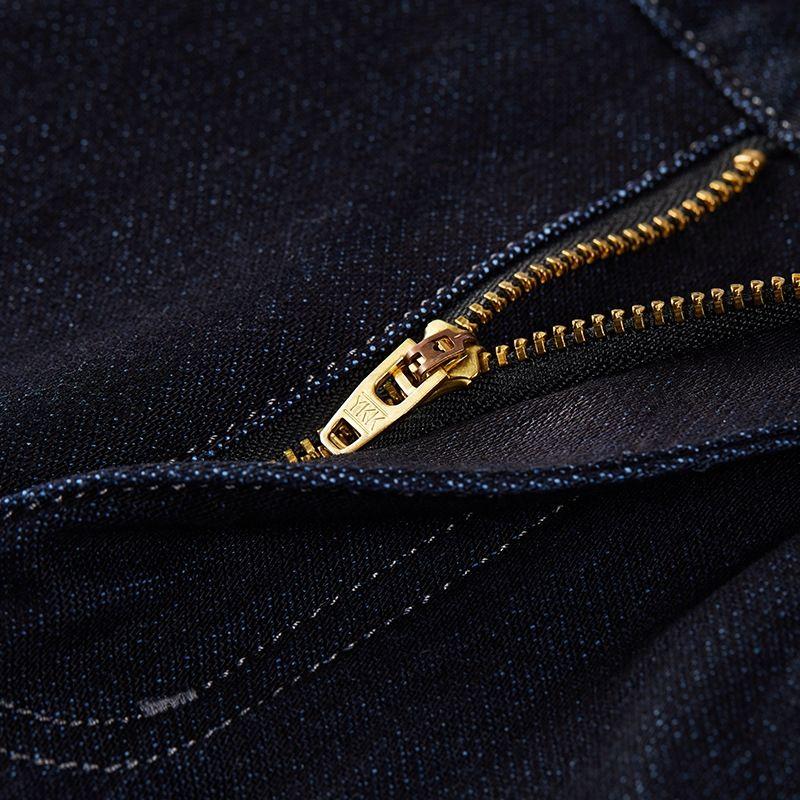 Sihailong мужские брюки и джинсы случайные прямогонного ногу мужские брюки середине талии прямой тонкий подходят джинсы для осени и зимы 2020 2wi среднего возраста