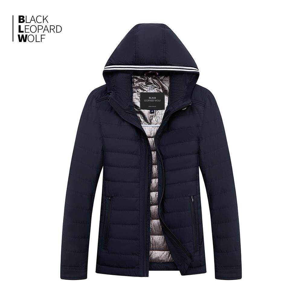 ceket bahar ceket ZC-C5612 CX200814 aşağı Blackleopardwolf 2019 yeni varış bahar ceket yüksek kalite kalın pamuklu Balck renk ördek