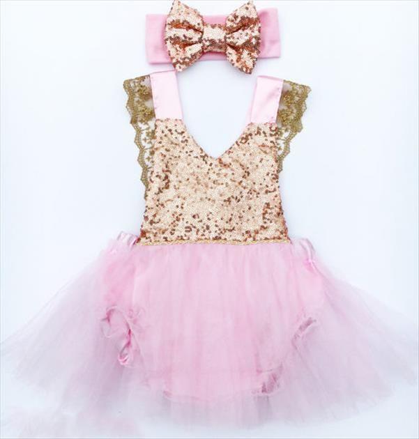 Nuovo Fiore Principessa bambino del capretto Party Girl Body senza maniche spettacolo di Tulle Tutu increspature sveglie abbigliamento neonate