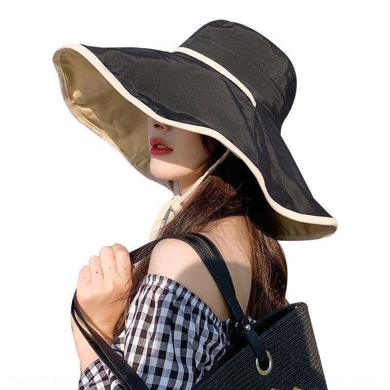Корейский стиль Fisherman женщин универсальный модный летний карнизов защита от ультрафиолетовых лучей Ковш ВС Hat шлем солнца