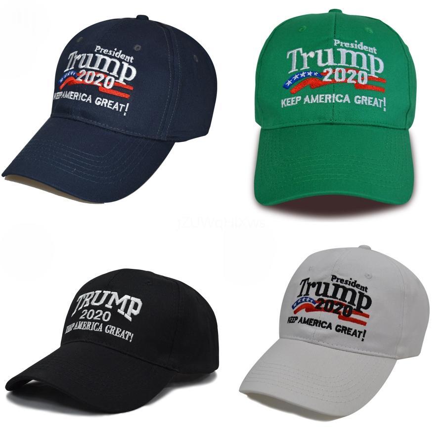 US-Präsident Baseballmütze Baseballmütze Trump Trump 2020Makeamerica Hut # 983