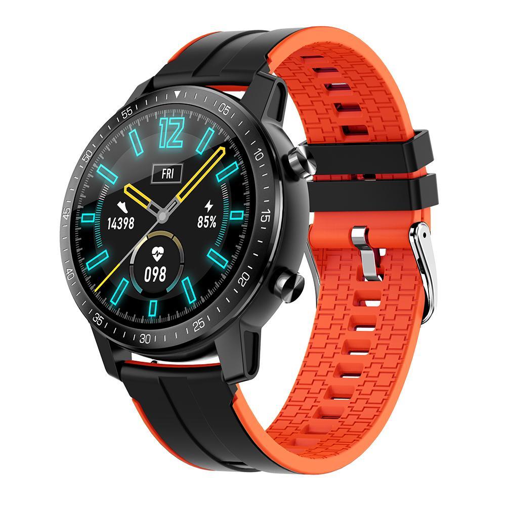 S30 Spor Akıllı İzle IP68 su geçirmez Smartwatch 1.3 İnç Özel Aramalar SMS Hatırlatma Nabız Uyku Monitör Spor Akıllı Bant Dial Screen