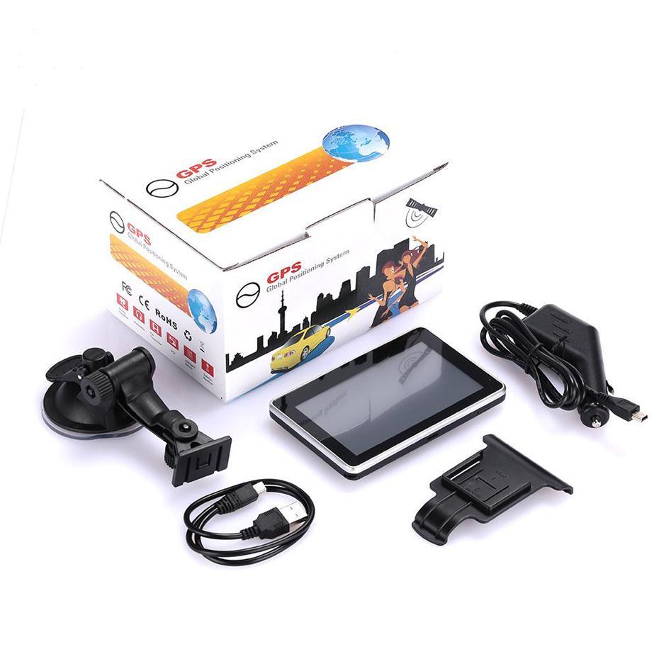 """Navigazione GPS portatile da 4,3 pollici per auto 4.3 """"Auto Navigator con Bluetooth AV 256MB + 8 GB Nuovi MPS Multi-Country"""