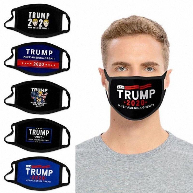 Maschere vincente per adulti Bambino 2020 il presidente americano Elezione Forniture Riusabilità traspirante lavabile maschera antipolvere maschere Designer YYA324 Jr3g #