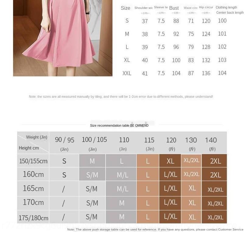 7S6ZM V-cuello de satén de moda 2020 verano nuevo vestido de línea A-slim-fit cintura apretada manga mitad de la longitud de la cintura atado para las mujeres