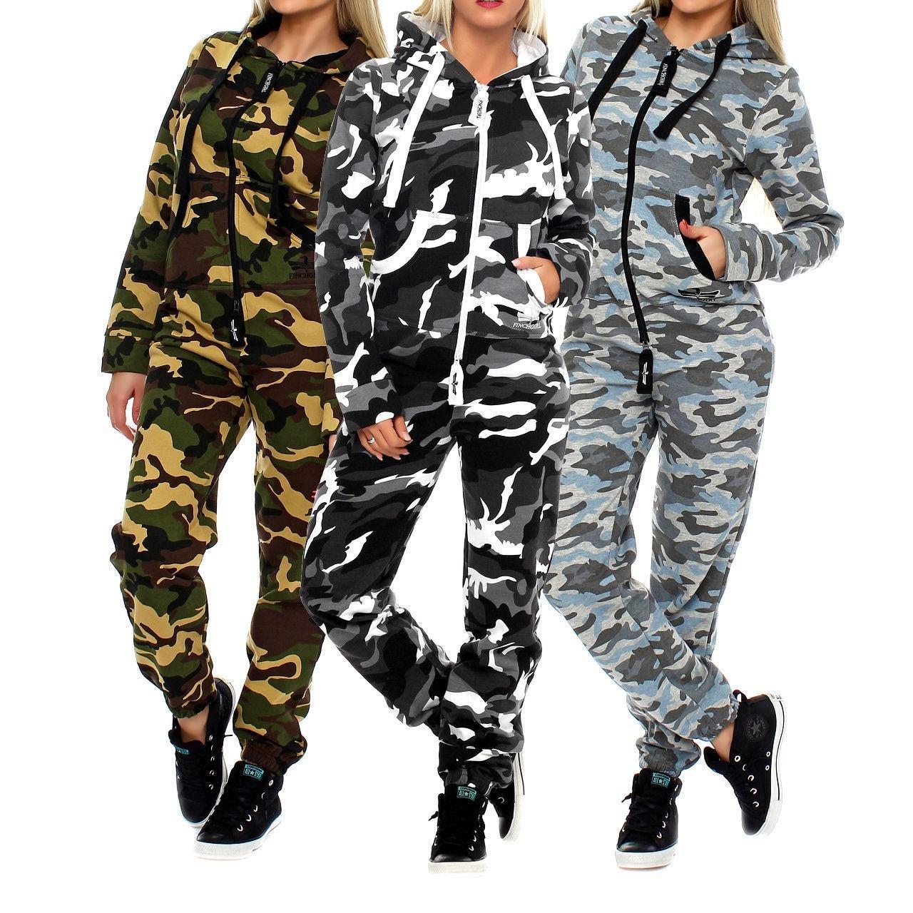 ZOGAA Yeni Moda Kamuflaj Eşofman Koşu Suit Kapşonlu Sweatshirt + jogger Pantolon 2 parçalı set kadın eşofmanı kadınların S-2XL T200825