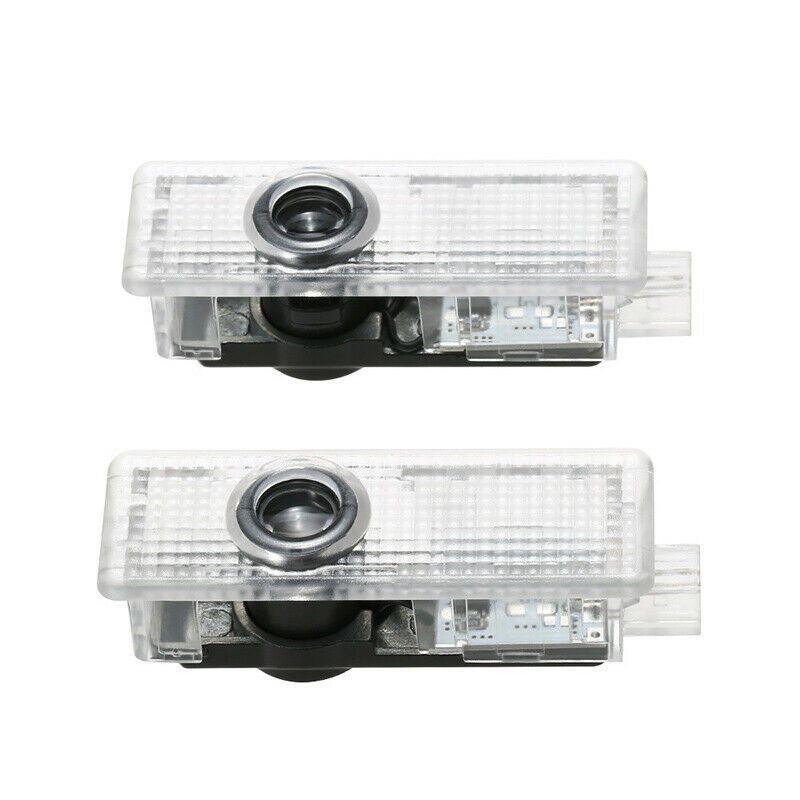 새로운 2 개 자동차에 오신 것을 환영 빛 문 로고 주도 프로젝션 램프 레이저를 들어 BMW E90-93 M3 E60-64 E61 F10 F07-12 M5 된 벌브 DC 12V