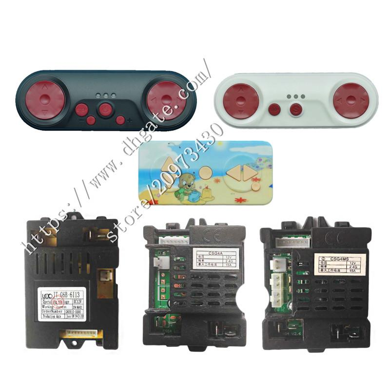 Baby toy car JT-G6B-6113 bluetooth remote control 2.4GHz, the controller JT-G50B-C21,JT-G50B-6G16,CSG4R CSG4MS CSG4A receiver