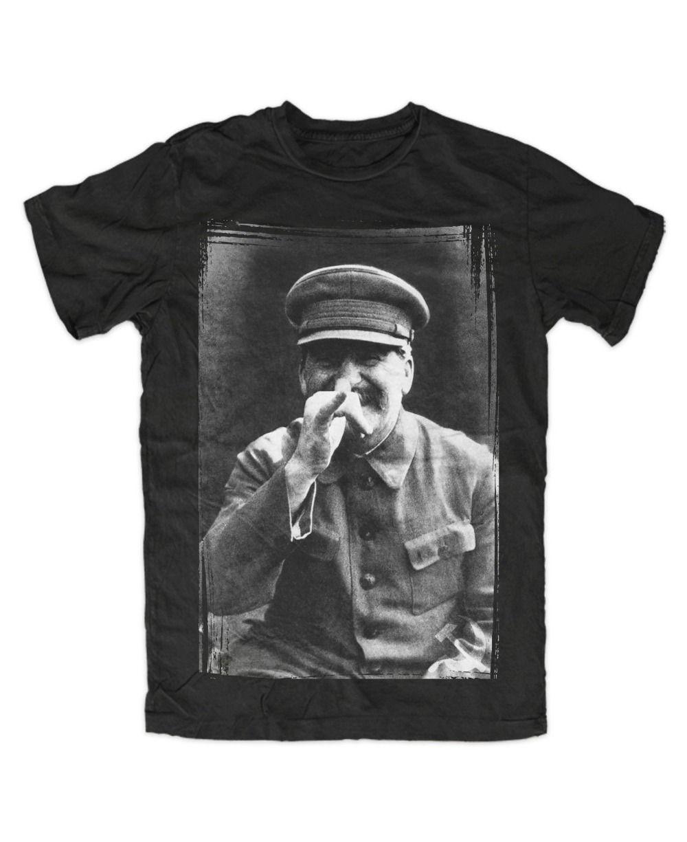 Uomo 2020 marchio di abbigliamento casual Tees Stalin Jokes T-Shirt schwarz, Russia, Josef, UDSSR, Kult, DDR, Lenin, camicia Revolution T