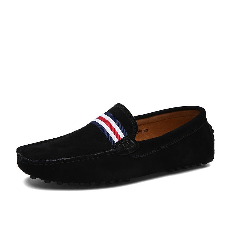 Última hombres zapatos de moda de la venta caliente de los zapatos ocasionales de los hombres con estilo Lazy zapatos de los holgazanes
