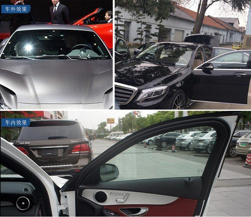 fenêtre de voiture rouleau de film de teinte 65% film teinter verre auto VLT pour voiture de bureau flexible parasol résidentiel commercial 100ft gros ari8 #