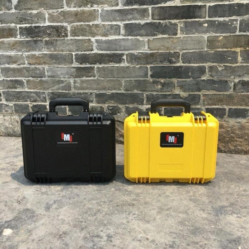 resistente attrezzature strumento caso toolbox fotocamera caso di impatto impermeabile sigillato protezione strumento di sicurezza con pre-tagliati in schiuma 5aLk #