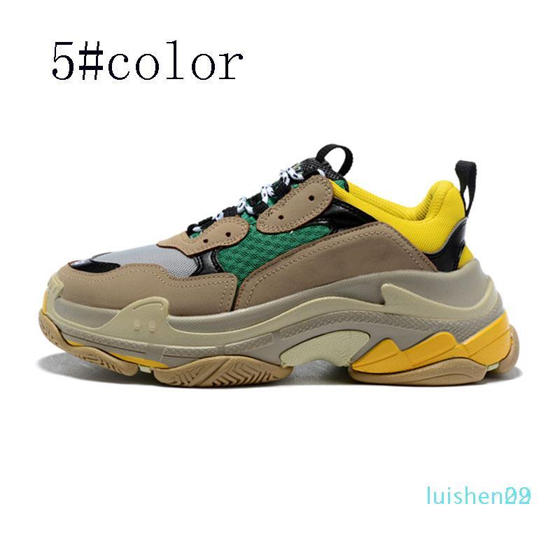 Designer Schuhe Mode Paris 17 FW Beiläufiges von Triple S-Turnschuh-Männer Frauen-Schwarz-rosa weiß Sport Turnschuhe Größe 36-45 L29