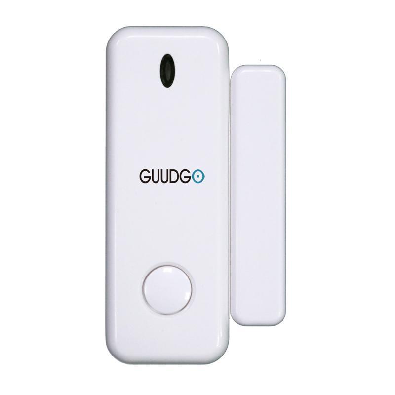 Ağ Geçidi Ev Alarm Dedektör Security ile Guudgo Kapı Pencere Sensörü Cep Boyut 433MHz Kablosuz Akıllı Ev Seti Alarm Sistemi çalışmaları