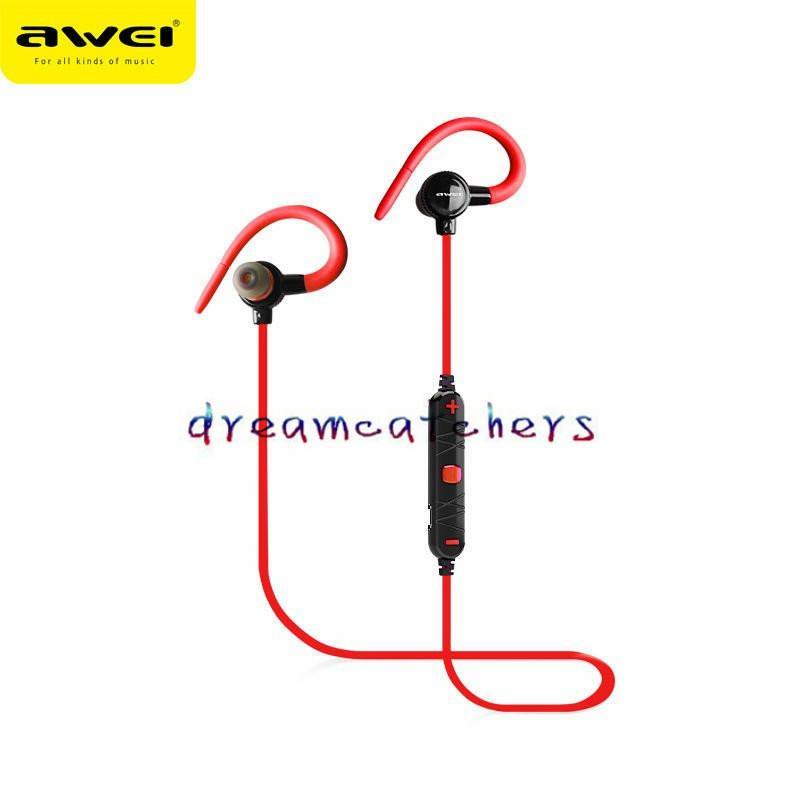 Cgjxs New Bluetooth Wireless Earphone Headset Stereo Sport Running In -Ear Earbuds Awei A620bl With Microphone For Iphone 7 Samaung S7 Smart
