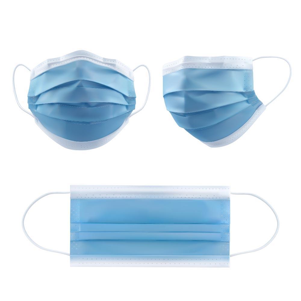 3-Kat Kapak Nefes Toz Katmanı Kulak Döngü Ağız Maskeleri Toz Tek Kullanımlık Parçası Tek Kullanımlık Dokunmamış 3 Maske Yüz Açık Maskeleri Yumuşak 1B05 JM NWKA