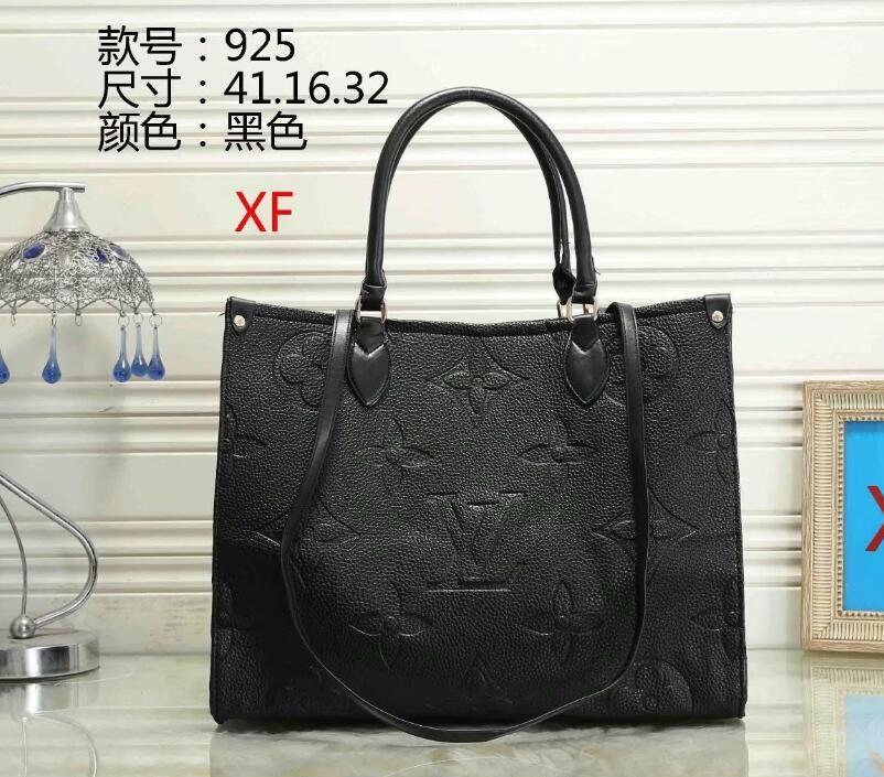 Zincir Omuz Çantası Klasik Siyah 6540 ile Kadın Çanta Casual Bez Alışveriş Çantalar