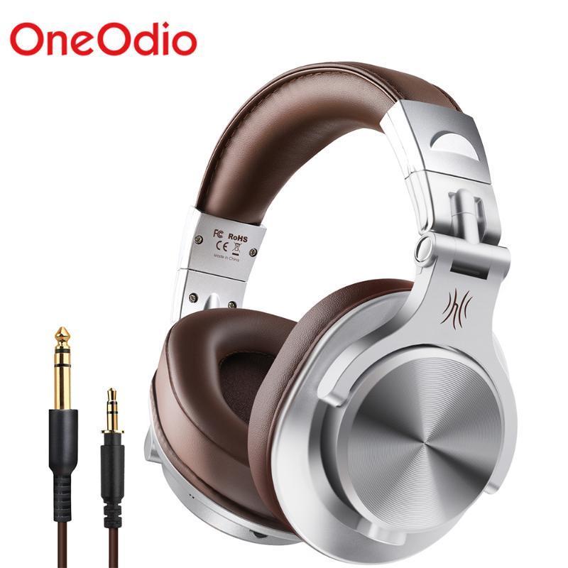 Cuffie da cuffie onedio A7 Fusion Bluetooth Cuffie da studio Studio Recording Wired / Wireless Gonei con monitor professionale a portata di condivisione