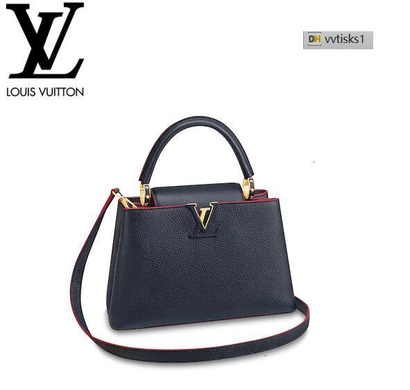 vvtisks1 JC70 M43934 Capucines PM Marine rouge Women HANDBAGS ICONIC BAGS TOP HANDLES SHOULDER BAGS TOTES CROSS BODY BAG CLUTCHES EVENING
