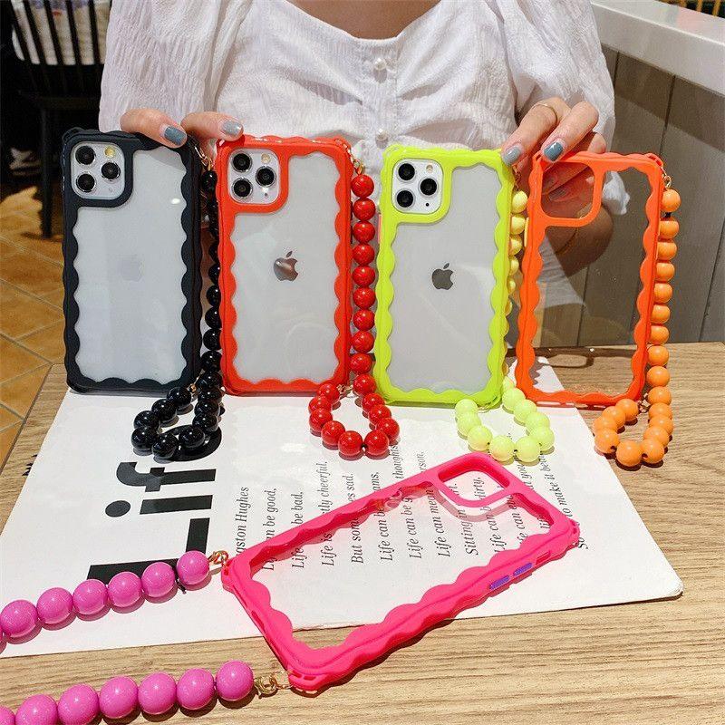 Handy-Fälle Korn-Ketten-Telefon-Schutz für Apple iphone 11 XR xsmax Hard Cases Handtaschen-Kasten