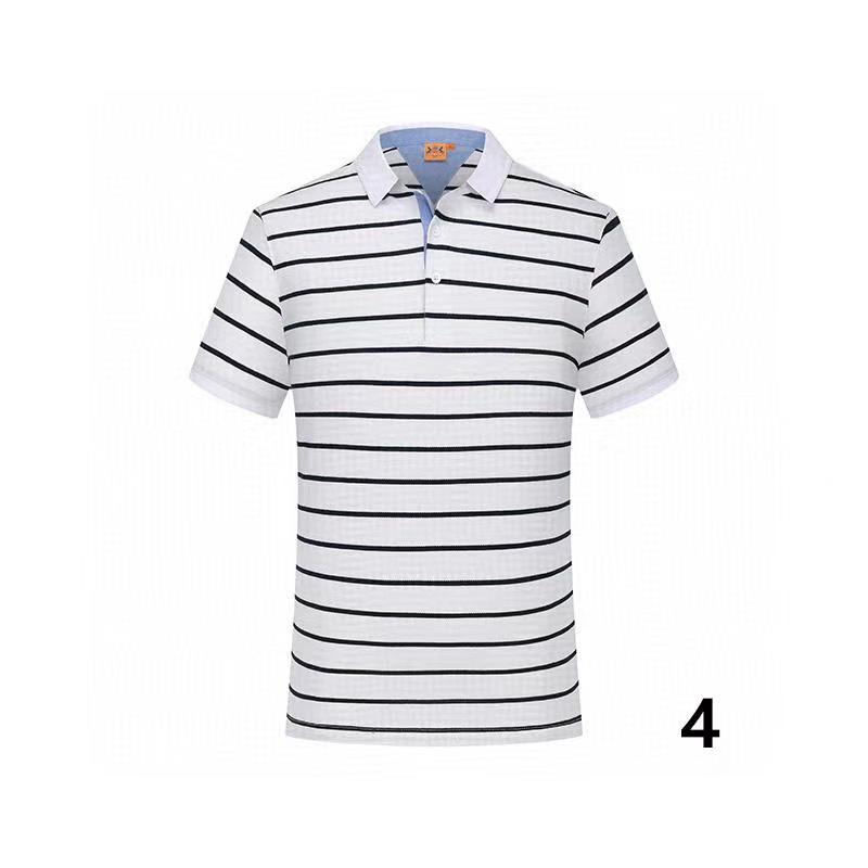 20-4 del cotone di estate di colore solido nuovo stile di polo di alta qualità fabbrica polo uomo luxury1 uomini di marca in vendita