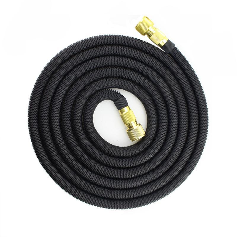75ft tuyau d'arrosage d'eau d'arrosage Tuyau extensible à haute pression lavage de voiture tuyau flexible Jardin