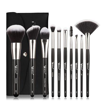 Beili Black Makeup Brushes Set Professional Brushes Foundation Powder Contour Eyeshadow Make Up Brushes Cx200717 From Caliu123 22 85 Dhgate Com