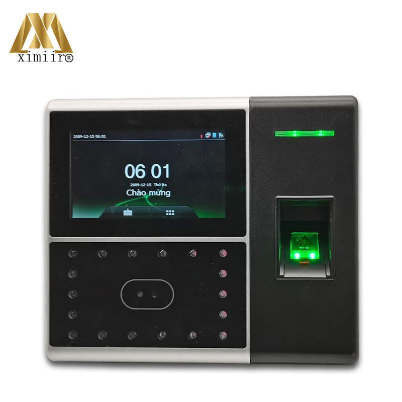 Sistema de reconhecimento facial Multi-biométrico Atendimento e Controle de Acesso Terminal Face Impressão digital com cartão, bateria Free SDK iface302