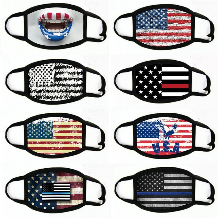 Drapeau Facemask Emballés individuellement Masques nez couverture Drapeau Australie usine Prix dicount à moitié prix bon marché modeste Meilleur Vente # 837