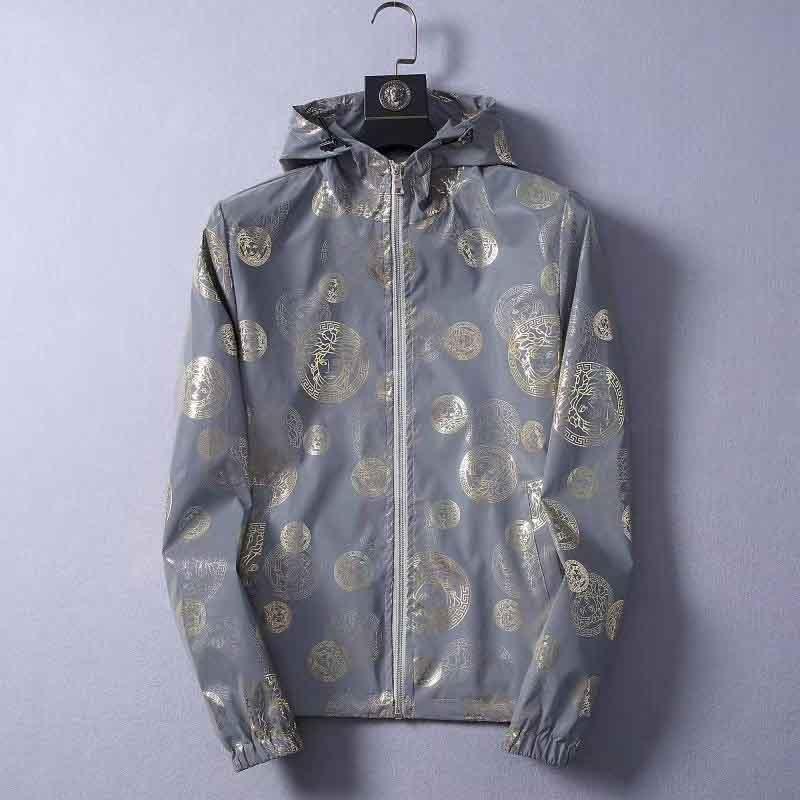 20ss di stampa della lettera del cappotto cucitura Windbreaker Uomo Donna Coppia stile di moda giacche OS TOP VERSIONE M-3XL