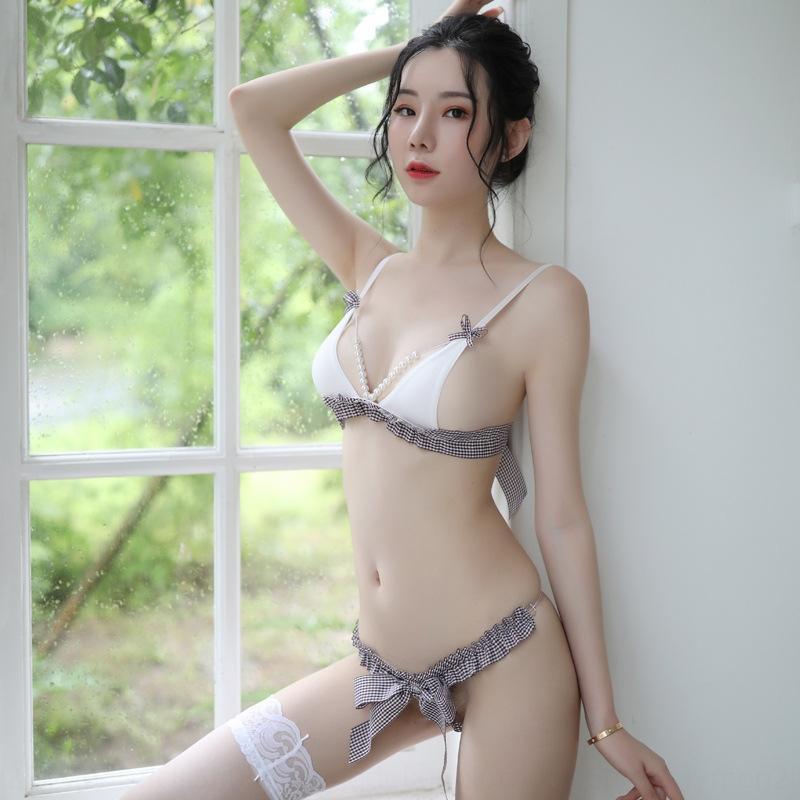 aj6dZ Siyu чернила сексуального сексуальное нижнее белье бикини бюстгальтер женщины страсть костюм женщины бикини мило три точки равномерный