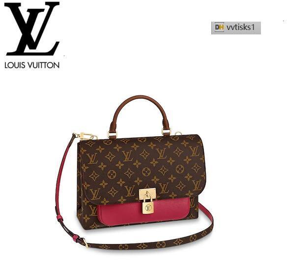 vvtisks1 NBOC M43959 Marignan Lie de Vin Women HANDBAGS ICONIC BAGS TOP HANDLES SHOULDER BAGS TOTES CROSS BODY BAG CLUTCHES EVENING