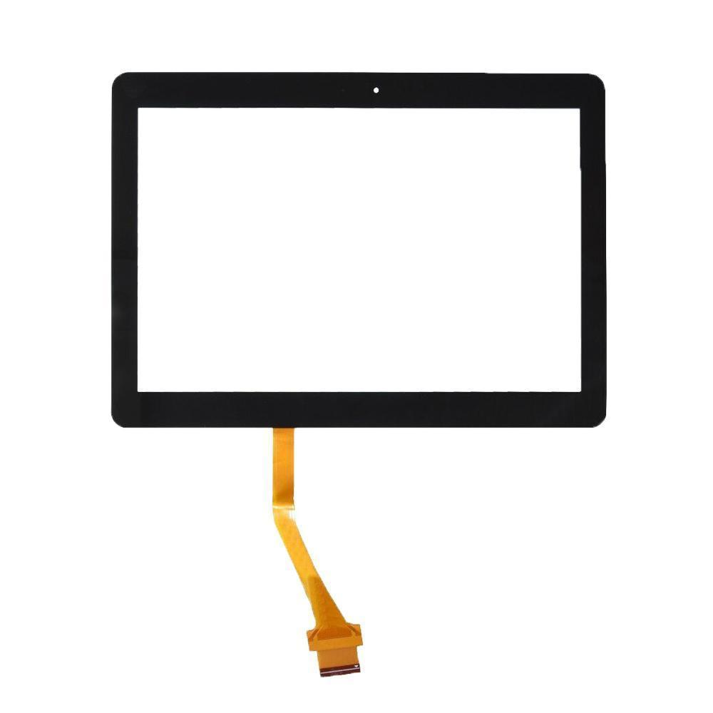 50pcs para la lengüeta 2 P5100 P5110 10 0.1 Sustitución de pantalla táctil digitalizador panel de cristal de la lente del sensor frontal LCD N8000