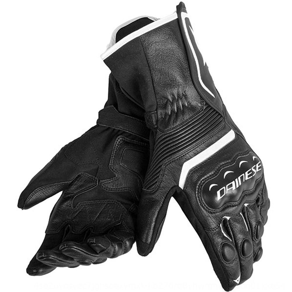 Assen long Motorcycle and motorcycle corpse gloves hard case racing anti-fall waterproof gloves non-slip